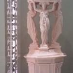 Enigme de la fontaine Wallace rose pâle