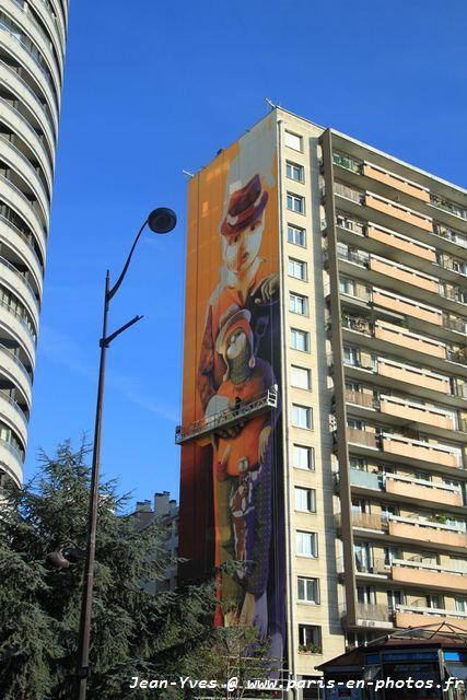 fresque 15 étages Inti