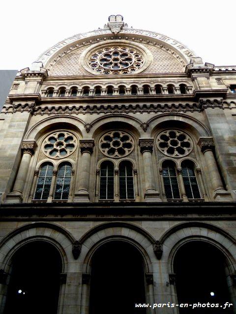 Entrée Synagogue Victoire
