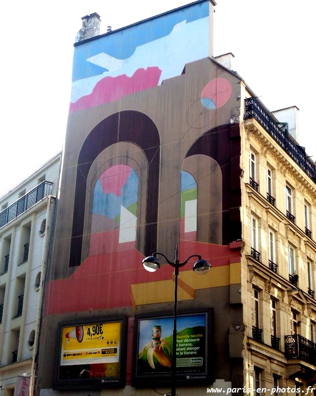 fresque André Menard