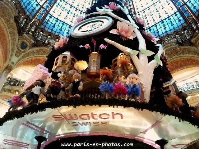 sapin de Noël Galeries Lafayette 2013