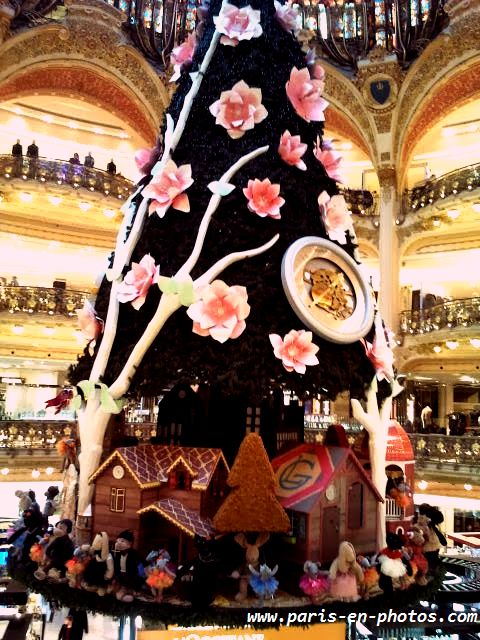 sapin de Noël Galeries 2013
