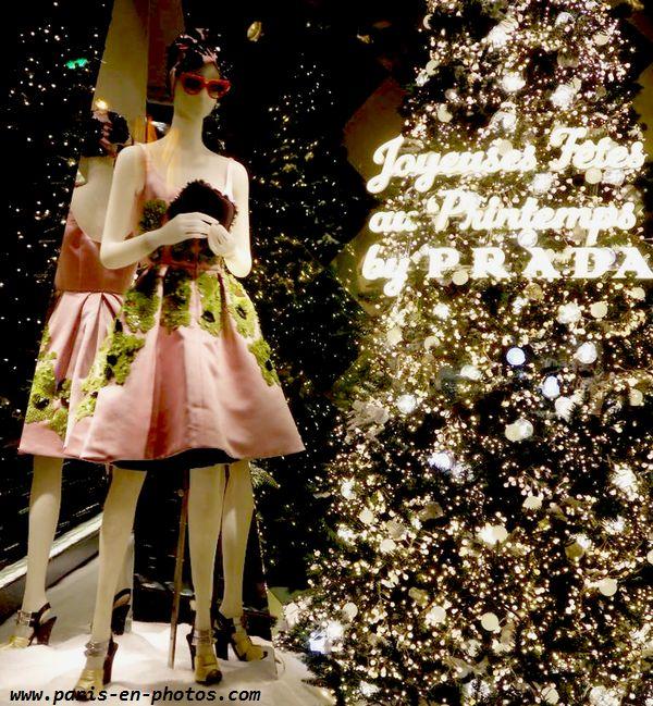 robe rose Prada Printemps