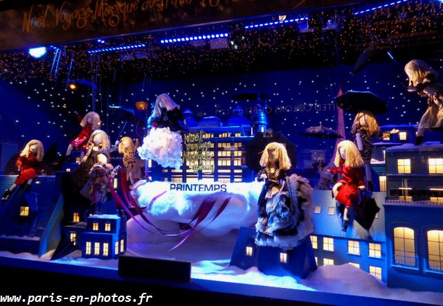 Vitrines de no l 2014 du printemps paris en photos - Vitrine de noel paris ...