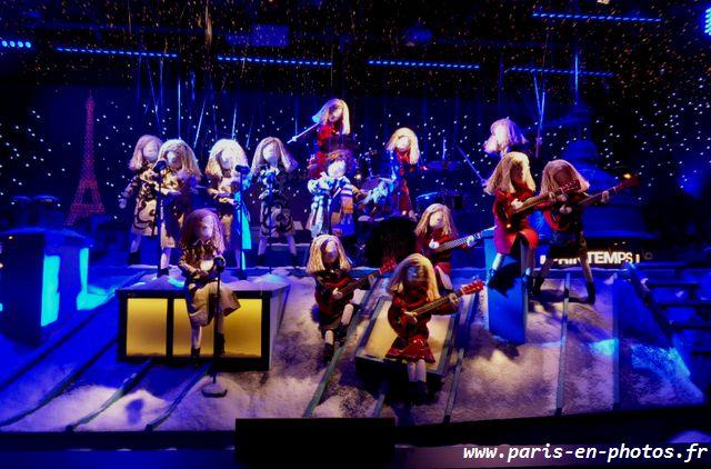 toits de Paris, concert Burberry au Printemps