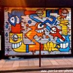 Graffiti des poissons