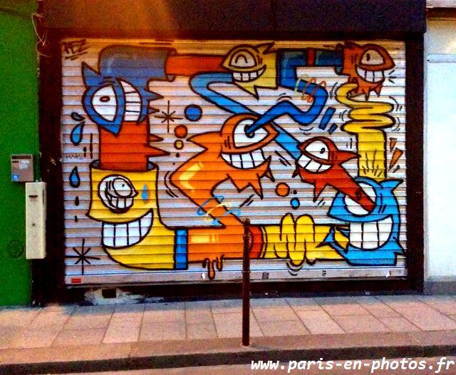 Tag rideau magasin rue Vertbois
