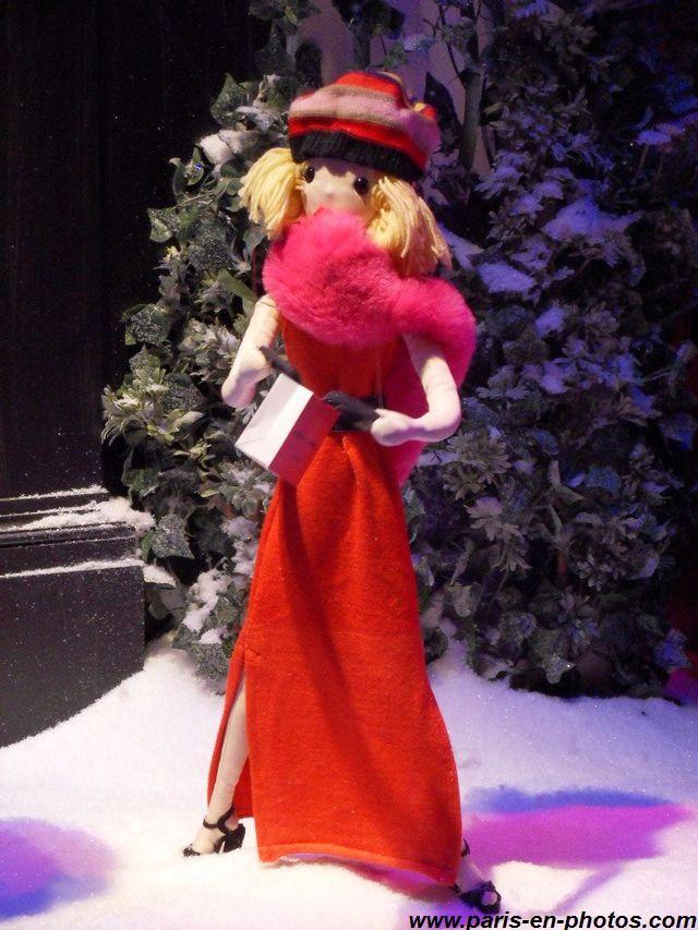 Fashion victim vitrines Noël 2015